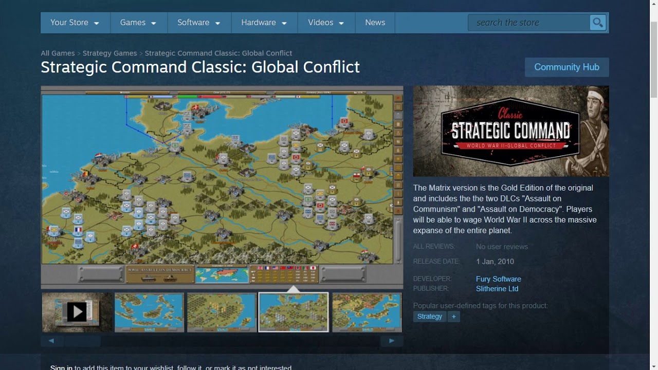 strategic command wwii war in europe gameplay