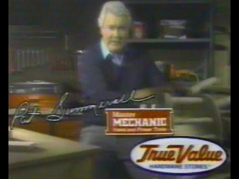 1987 PAT SUMMERALL for True Value Hardware