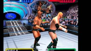 WWF SmackDown! 2: Know Your Role (PSX) The Rock /John Cena Vs The Authority- Vizzed.com GamePlay