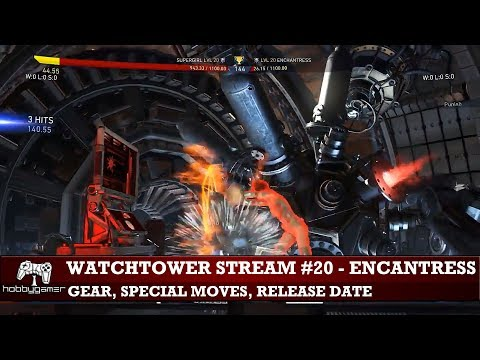 Injustice 2: Watchtower Stream #21 - Enchantress explained and balance patch notes!