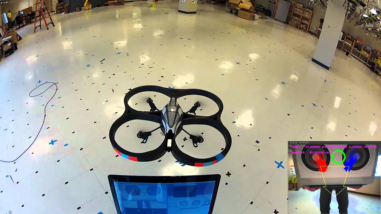 use opencv with the ar drone sdk