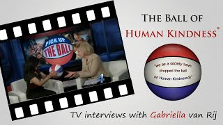The ball of Kindness in Oklahoma City KFOR TV, Channel 4, NBC