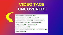 How To See Tags on YouTube Videos and Channels w/ TubeBuddy