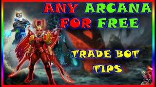 Dota 2 trade items. Free skins. Free Arcana