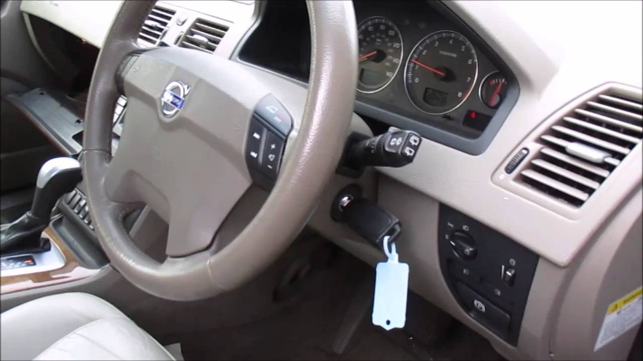 volvo xc90 obd ii port location - youtube