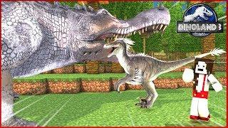 DinoLand 3 #46: DINOSSAUROS FAMINTOS ESTÃO ATACANDO OUTROS DINOSSAUROS! - Minecraft