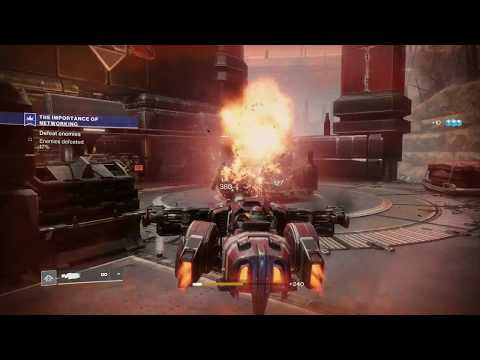 Destiny 2 - Patrols Quest: (Firebase Hades) Collect Munitions From Legionaries, Defeat 100% Enemies