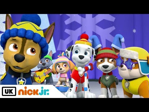 Paw Patrol | Pups Save the Winter Wonder Show: Part 2 | Nick Jr. UK