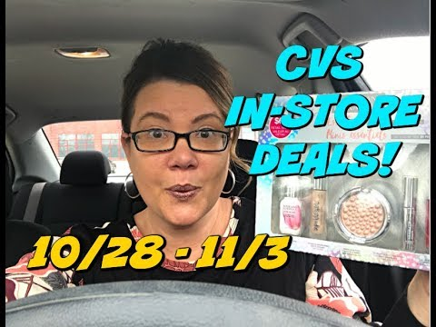 CVS IN-STORE COUPON DEALS 10/28 - 11/3 | Great MoneyMakers & so much more!