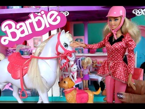 Кукла Барби и лошадка Тони, Барби интерактивный набор из серии Barbie и Сестры в Сказке о Поне