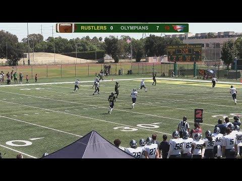 Golden West College Football Vs San Diego Mesa