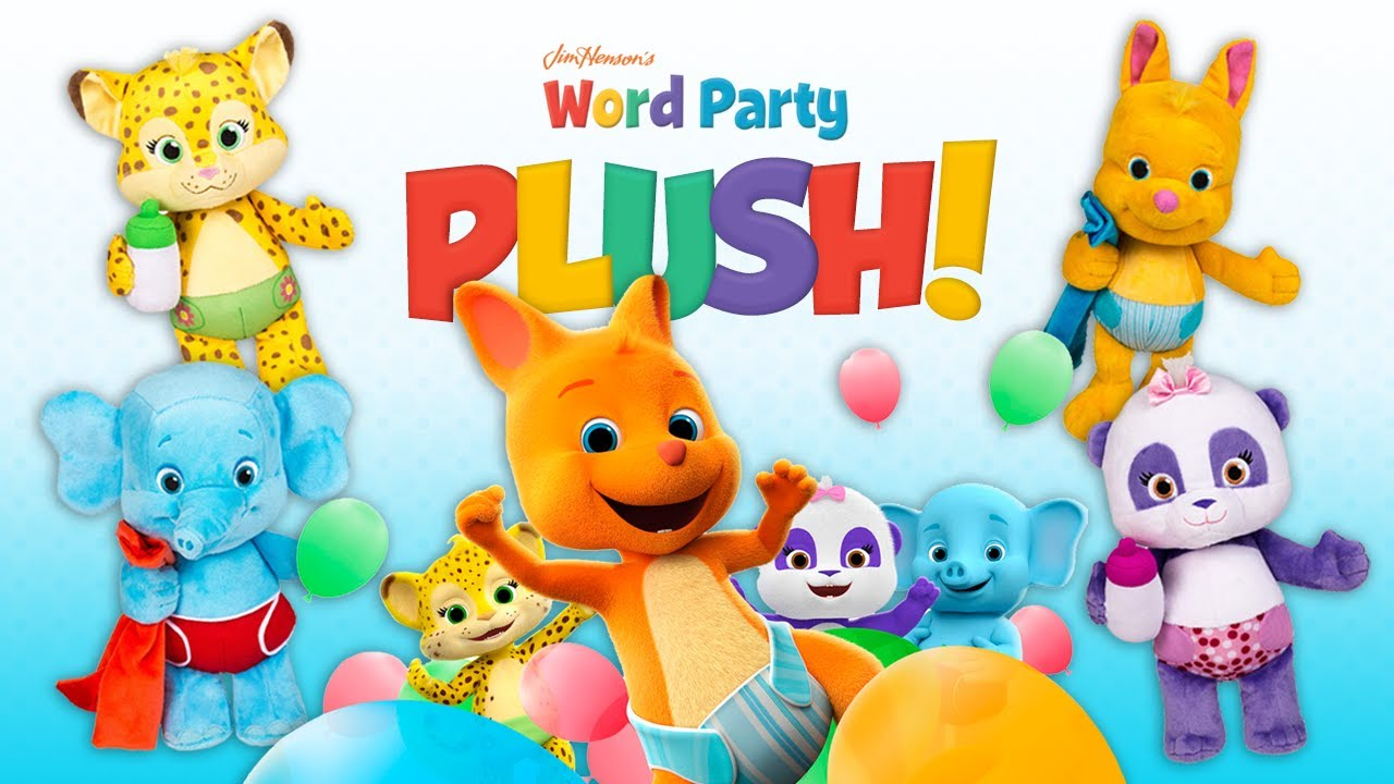 Word Party Snuggle Amp Play Babies Plush From Snap Toys A