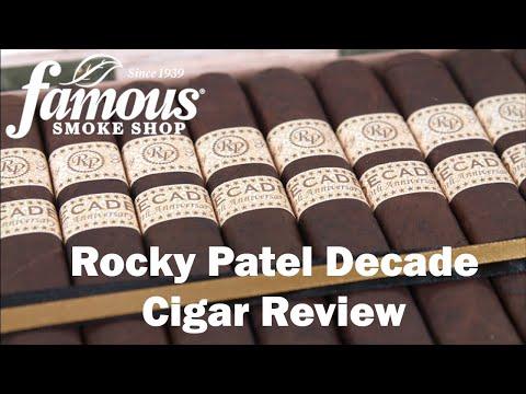 Rocky Patel Decade Cigars Review - Famous Smoke Shop