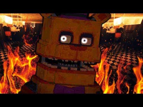 FREDBEAR AND SPRING BONNIE ESCAPE THE PIZZERIA!   Minecraft FNAF (Five Nights at Freddys)