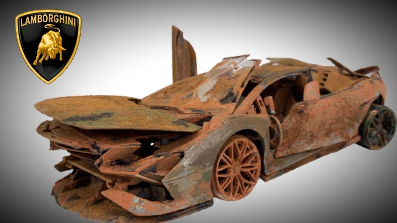 Download Lamborghini Sián Restoration Model Supercar