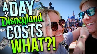 HOW MUCH DOES A DAY AT DISNEYLAND COST?    Travel Tips & Tricks for Disneyland!