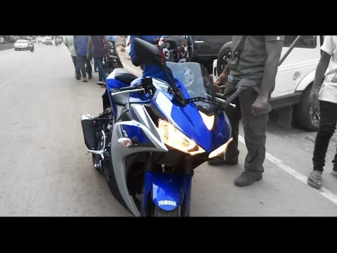R3 / Yamaha YZF-R3 India Spec, Exhaust Sound & Detailed First Look!