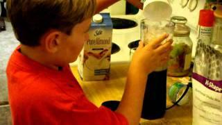 How A 6 Year Old Makes A Maple & Brown Sugar Oatmeal Vi-shake