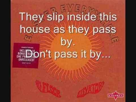 13th Floor Elevators - Slip Inside This House  (1967) (HD + Lyrics)