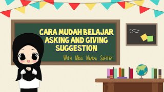 Asking And Giving Suggestion Cara Bertanya Dan Meminta Saran Dalam Bahasa Inggris Youtube