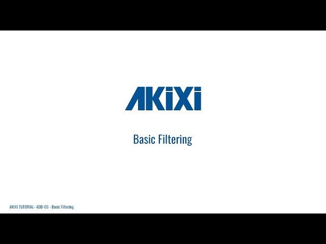 How to Apply Basic Filtering in Akixi Call Management Software