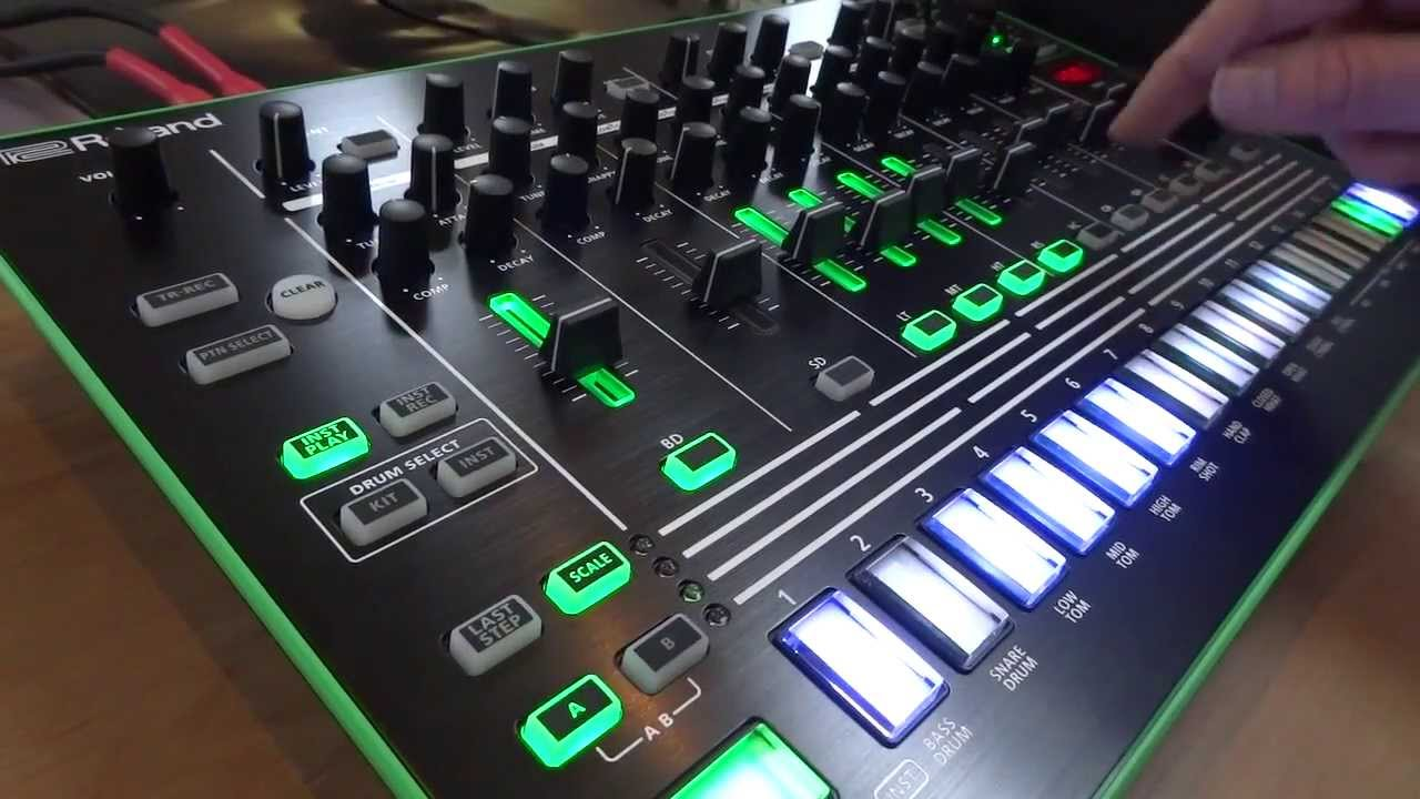 Roland Tr8 Review Demo