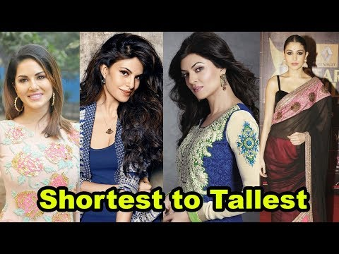 Thumbnail: Shortest to Tallest all Bollywood actresses shocking height