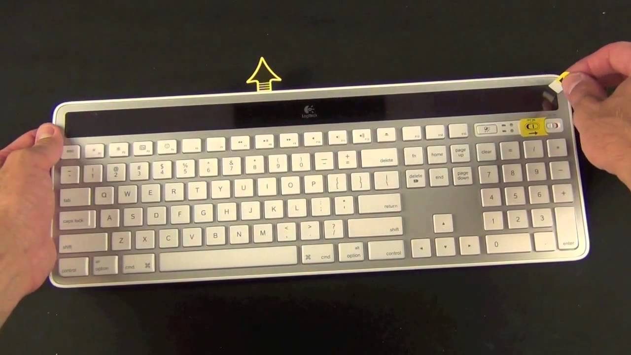9dc6472194e Logitech K750 Wireless Solar Keyboard for Mac Review - YouTube