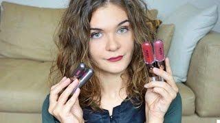 Unlimited Double Touch Liquid Lip Colour e Unlimited Stylo Kiko Swatch, Haul e Prime Impressioni