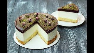 ХОЛОДНЫЙ ЧИЗКЕЙК с Вишней и Маскарпоне ✧  Cheesecake Cherry & Mascarpone Recipe