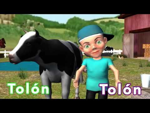 LA VACA LECHERA  Canciones Infantiles TOLON TOLON
