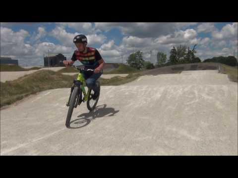 Riding Centennial Park BMX Track (MTB)