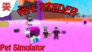 Neue Orte-Pet Simulator-Englisch Roblox