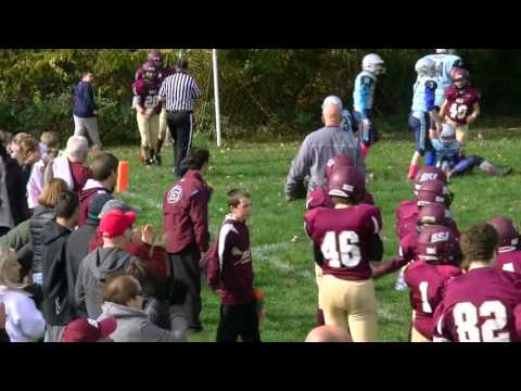 Kyle Cichanowsky 2015 8th Grade Football Highlight Reel