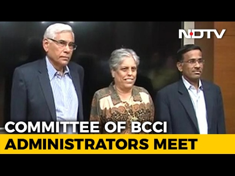 Committee of BCCI Administrators Meets in New Delhi