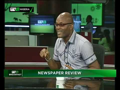 TVC Breakfast December 5th | Newspaper review