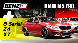 Yeni BMW M5 F90, X7, Z4 ve 8 Concept - Frankfurt Fuarı 2017