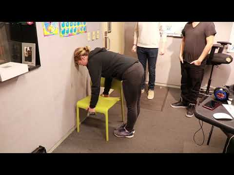 Brooke and Jose Try The Chair Challenge