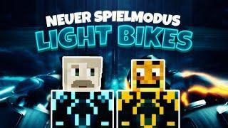 NEUER SPIELMODUS: Light Bikes - TRON ★ Angsthase mit Paluten!