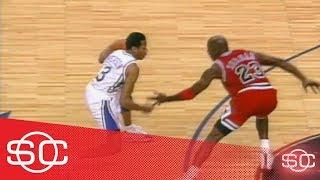 [March 12, 1997] When Allen Iverson crossed up Michael Jordan   SportsCenter   ESPN Archives