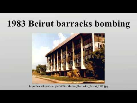 1983 Beirut barracks bombing