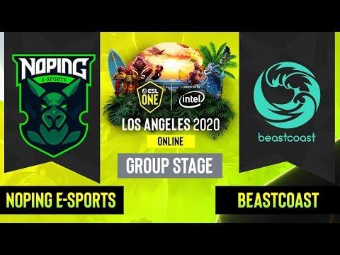 Beastcoast vs NoPing eSports vod