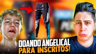 🚩DOANDO ANGELICAL PARA INSCRITOS ! X1 IGORILA ! EL MEGA!! SOLO RANKED!🔴FREEFIRE AO VIVO - LIVE