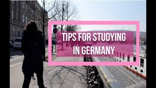 Quick Tips: STUDY IN GERMANY