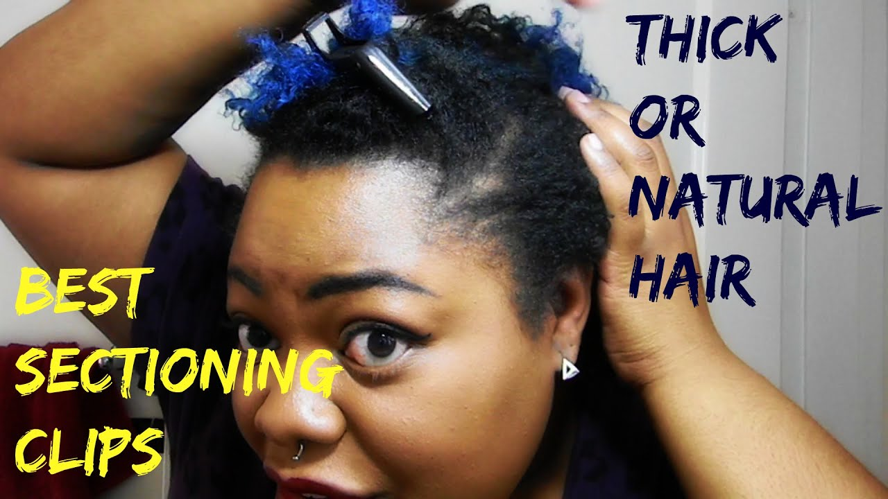 Best Sectioning Clips For Thick Or Natural Hair