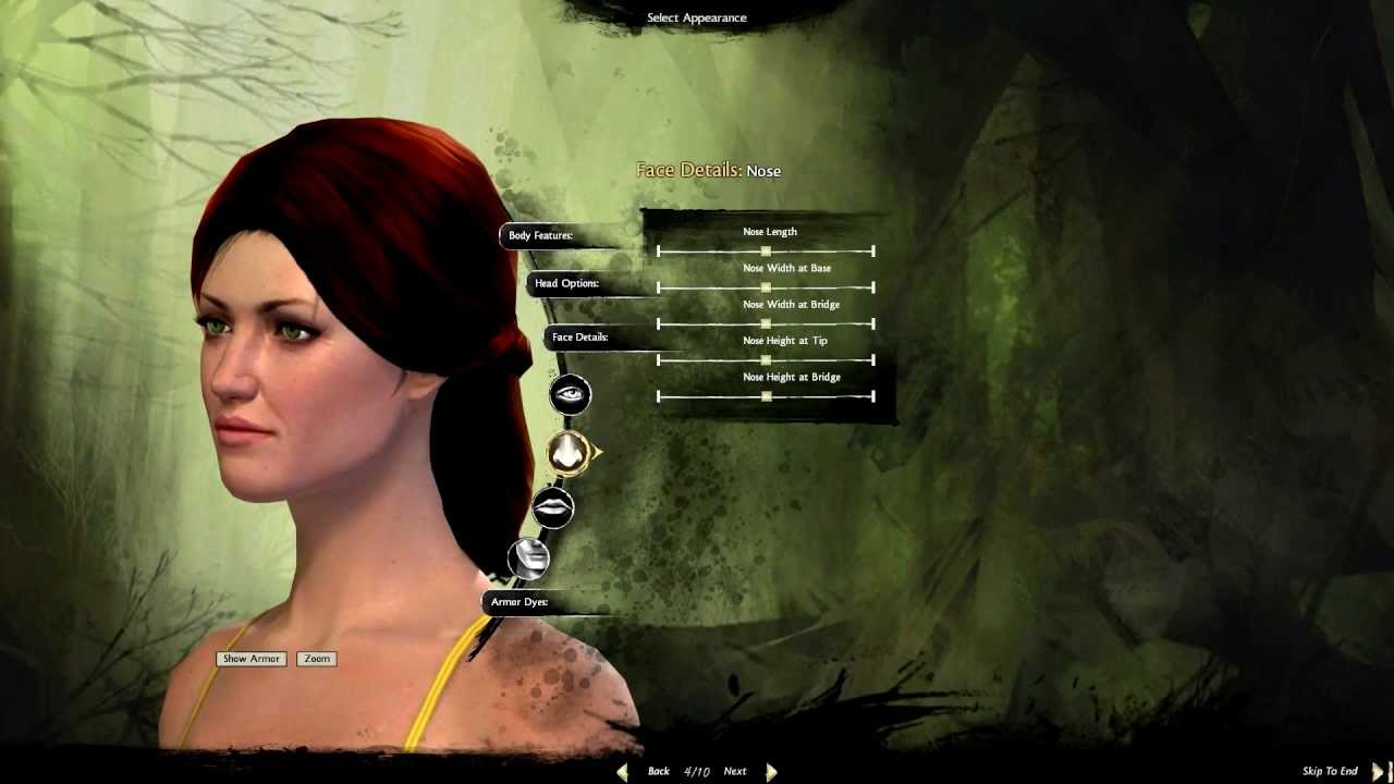 Game Of Thrones Guild Wars 2 Character Creation Catelyn Youtube
