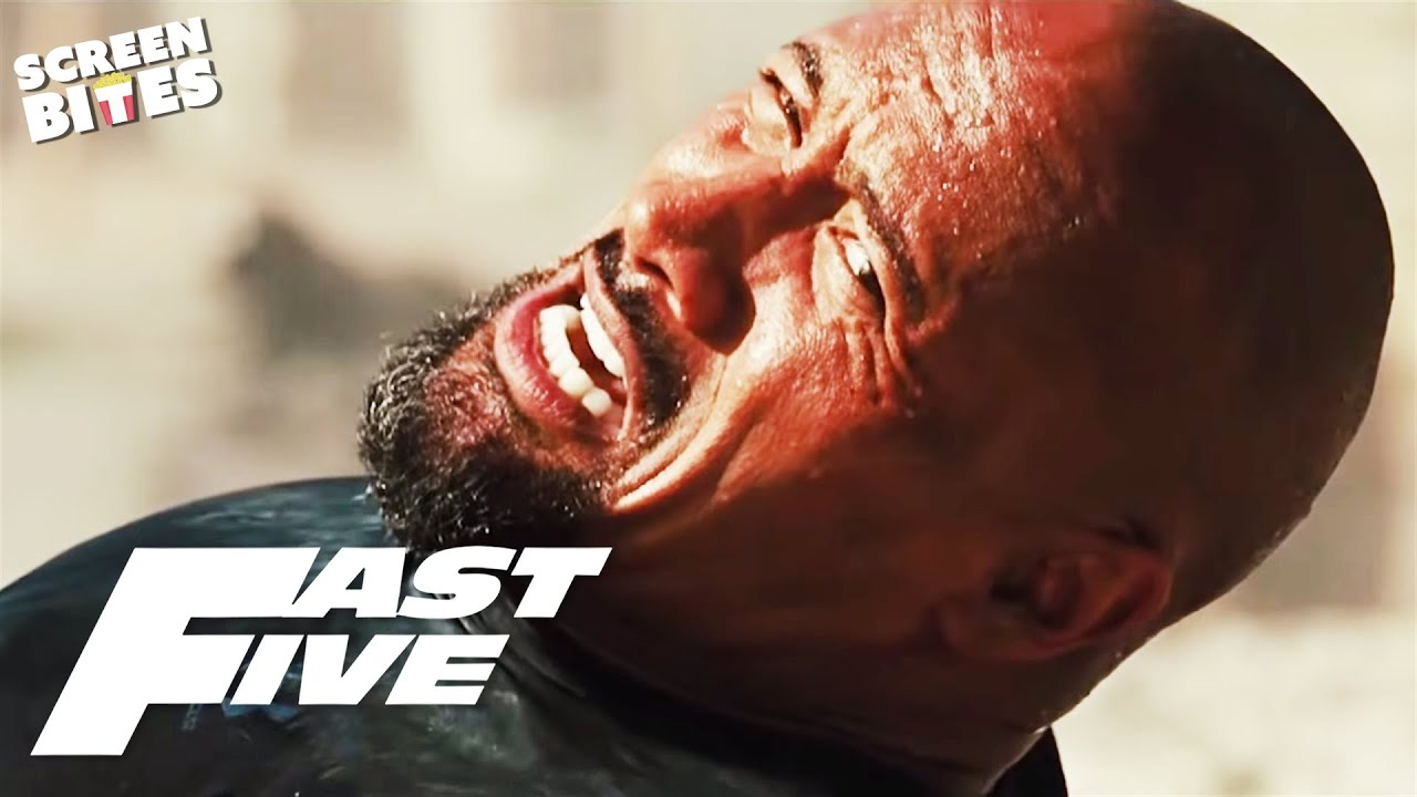 Download Dwayne Johnson as Agent Hobbs | The Rock in Fast & Furious | Fast Five | SceneScreen
