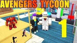 [ROBLOX: Avenger's Tycoon] - Lets Play Ep 1 - OVER 10 FLOORS!?