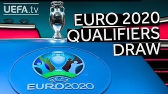 Watch the UEFA EURO 2020 Qualifiers Draw