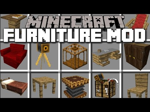 Minecraft House Furniture Mod Make Realistic House With Furniture Minecraft